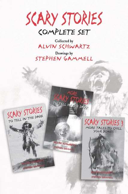 Scary Stories Complete Set - Alvin Schwartz - E-book