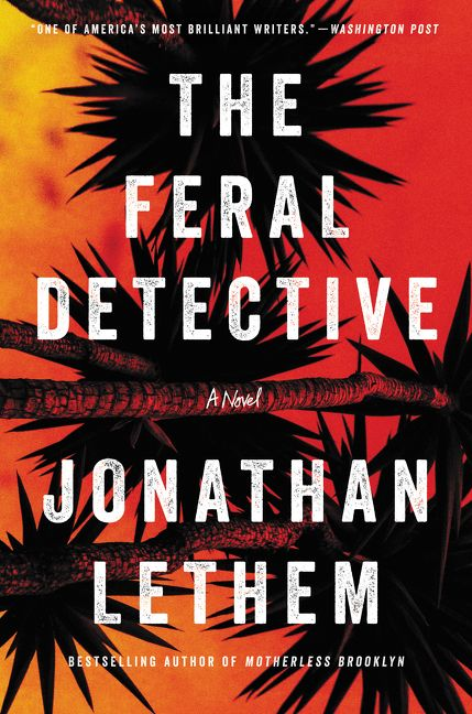 The feral detective jonathan lethem hardcover enlarge book cover fandeluxe Images