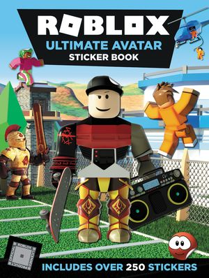 Roblox Ultimate Avatar Sticker Book book image