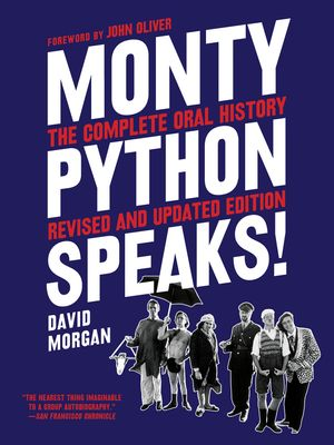 Monty Python Speaks, Revised and Updated Edition book image