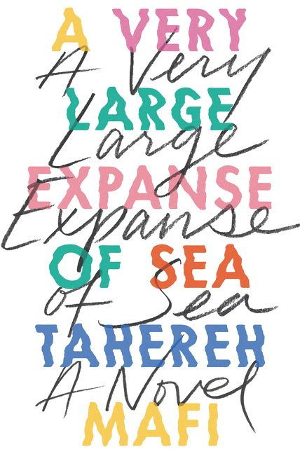 Image result for a very large expanse of sea book cover
