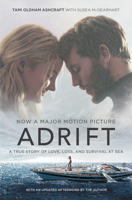 adrift  movie tie-in  - tami oldham ashcraft