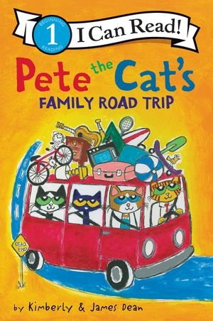 Pete the Cat's Family Road Trip book image