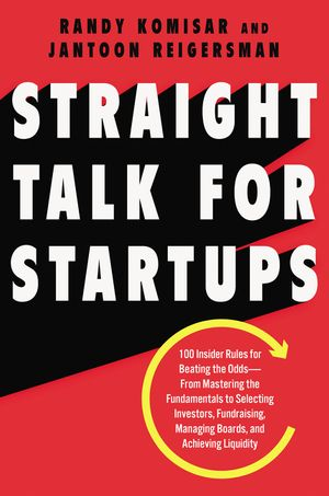 Straight Talk for Startups book image