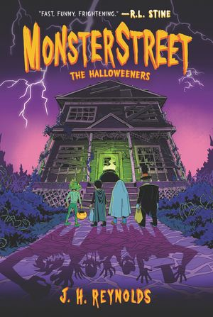 Monsterstreet #2: The Halloweeners book image
