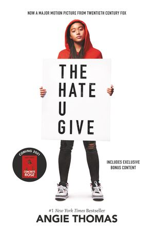 The Hate U Give Movie Tie-in Edition book image