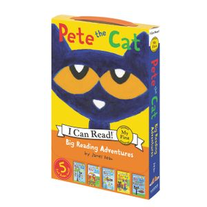 Pete the Cat: Big Reading Adventures book image