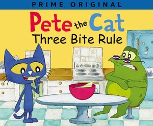 Pete the Cat: Three Bite Rule book image
