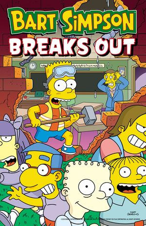 Bart Simpson Breaks Out book image