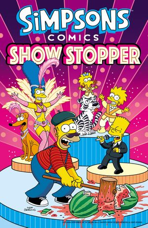 Simpsons Comics Showstopper book image