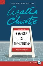 A Murder Is Announced Paperback LTE by Agatha Christie