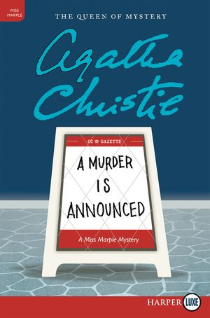 A Murder Is Announced book image