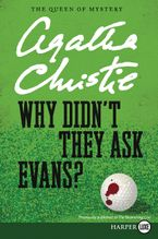 Why Didn't They Ask Evans? Paperback LTE by Agatha Christie