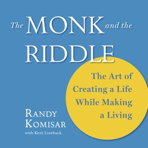The Monk and the Riddle book image