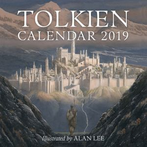 Tolkien Calendar 2019 book image