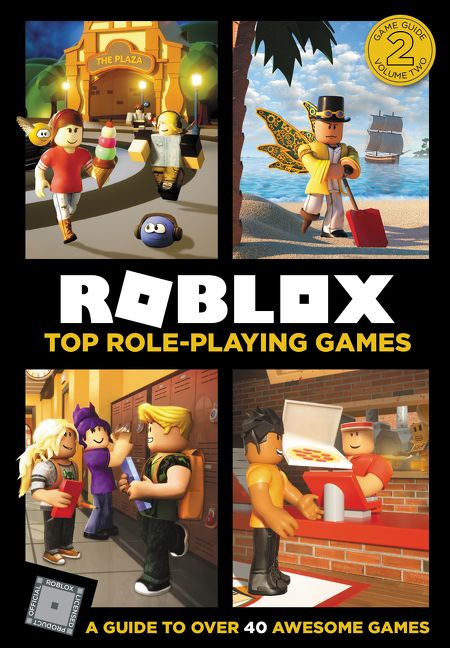 Roblox Top Role Playing Games Official Roblox Hardcover