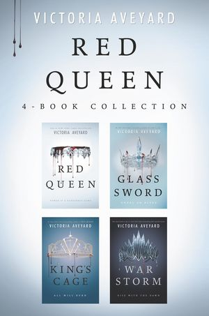 Red Queen 4-Book Collection book image