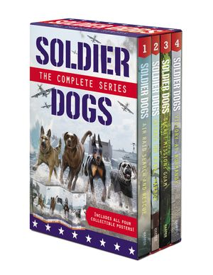 Soldier Dogs 4-Book Box Set book image