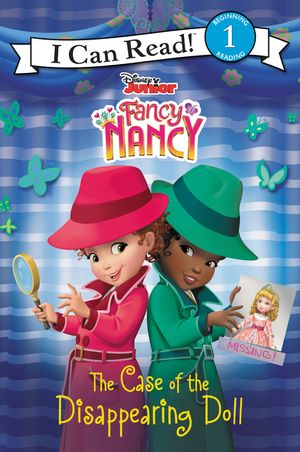 Disney Junior Fancy Nancy: The Case of the Disappearing Doll book image