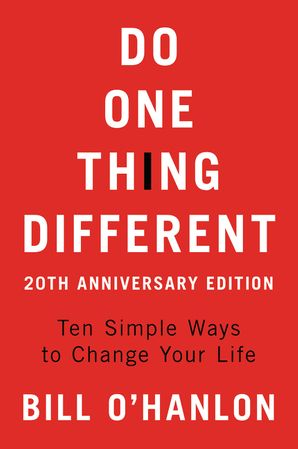 Do One Thing Different, 20th Anniversary Edition