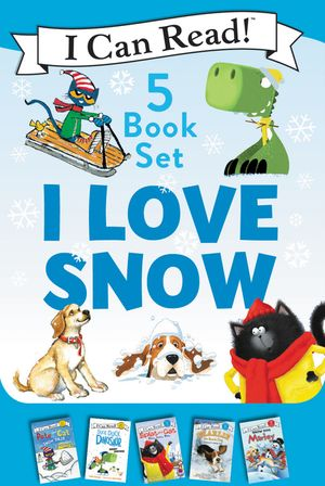 I Love Snow: I Can Read 5-Book Box Set book image