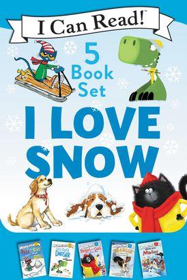 I Love Snow: I Can Read 5-Book Box Set