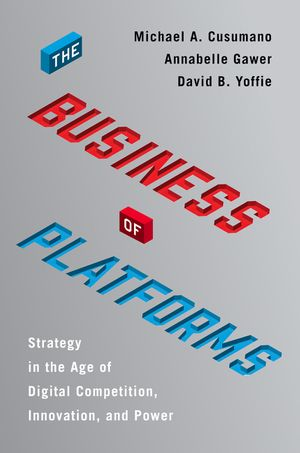 The Business of Platforms book image