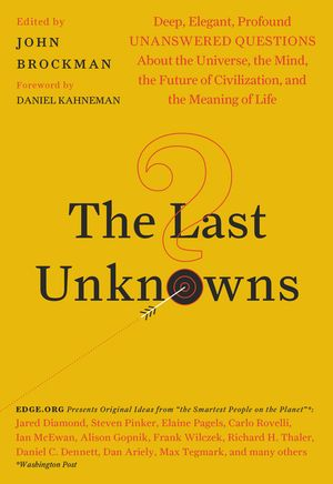 The Last Unknowns book image