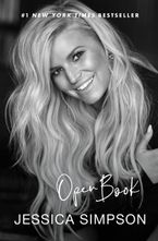 Open Book Hardcover  by Jessica Simpson