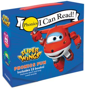 Super Wings: Phonics Fun book image