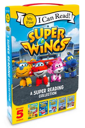 Super Wings: A Super Reading Collection