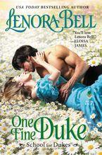 One Fine Duke Hardcover  by Lenora Bell