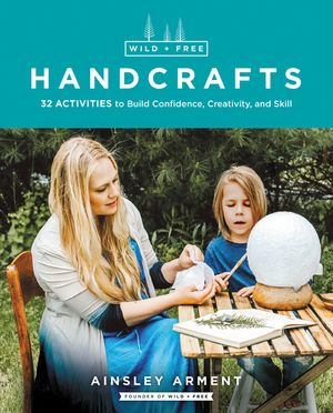Wild and Free Handcrafts book image