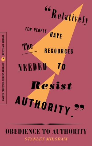 Obedience to Authority book image