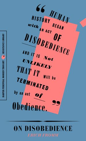 On Disobedience book image