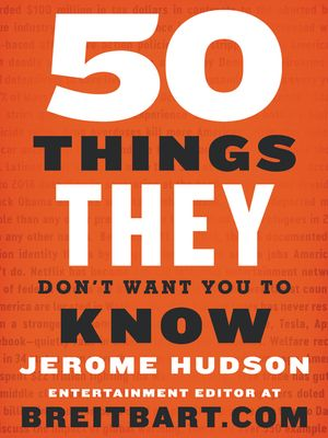 50 Things They Don't Want You to Know book image