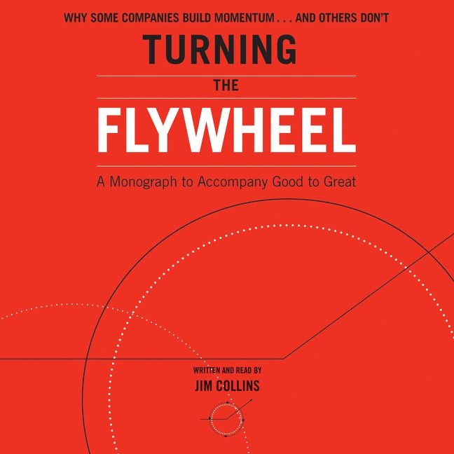 Book cover image: Turning the Flywheel: A Monograph to Accompany Good to Great