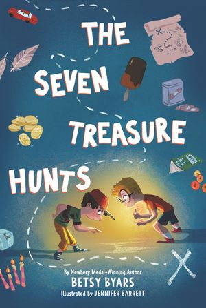 The Seven Treasure Hunts book image