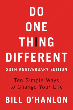 Do One Thing Different book image