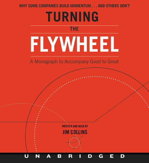 Book cover image: Turning the Flywheel CD: A Monograph to Accompany Good to Great