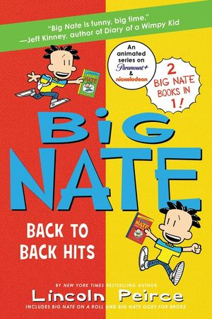 Big Nate: Back to Back Hits book image