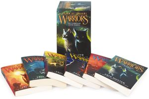 Warriors: A Vision of Shadows Box Set: Volumes 1 to 6 book image