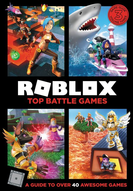 Roblox Top Battle Games Official Roblox Hardcover