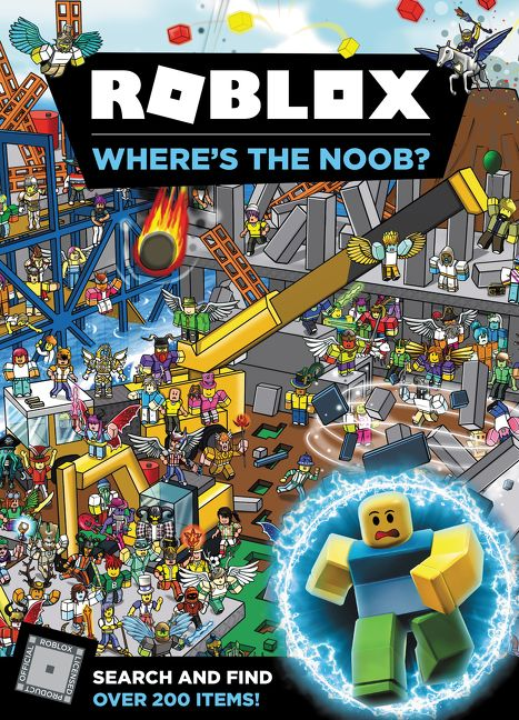 Roblox Where S The Noob Official Roblox Hardcover