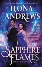 Sapphire Flames Hardcover  by Ilona Andrews
