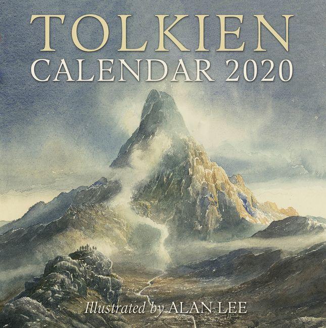 Uofa Calendar 2020 Tolkien Calendar 2020   J. R. R. Tolkien   Calendar