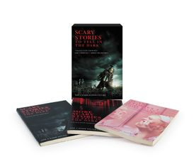 Scary Stories 3-Book Box Set Movie Tie-in Edition