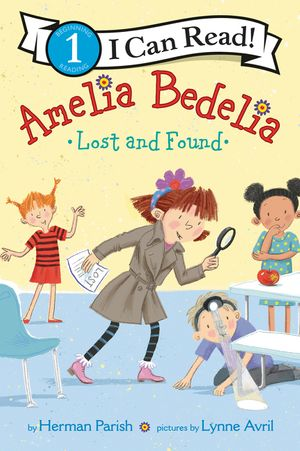 Amelia Bedelia Lost and Found book image