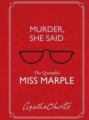 Murder, She Said book image