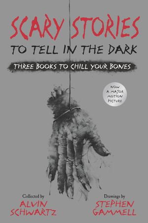 Scary Stories to Tell in the Dark: Three Books to Chill Your Bones book image